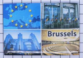 koelkastmagneet Brussels N_BX015