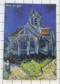 10 stuks koelkastmagneet  Van Gogh   MAC:20.405