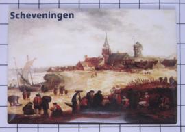 10 stuks koelkastmagneet  Scheveningen  N_ZH9.006