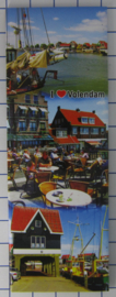 10 stuks koelkastmagneet Volendam  P_NH4.0016