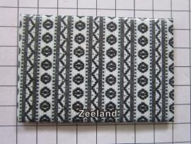 10 stuks koelkastmagneet  schortenbont Zeeland N_ZE1.007
