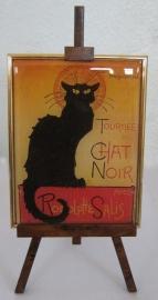 SCH035 Zwarte kat van Steinlen