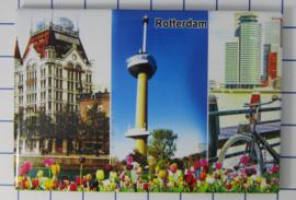 10 stuks koelkastmagneet Rotterdam N_ZH1.033
