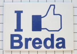 10 stuks koelkastmagneet I like Breda N_NB4.001