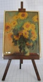 SCH031 zonnebloemen van Claude Monet