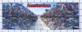 10 stuks koelkastmagneet Amsterdam  fietsenstalling 22.039
