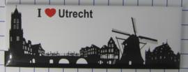 10 stuks koelkastmagneet  Utrecht P_UT1.0010