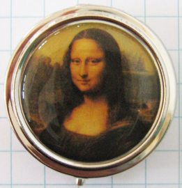 PIL 117 pillendoosje Mona Lisa