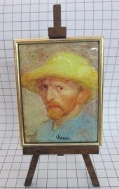 SCH002 schildersezel 16 cm hoog Vincent van Gogh