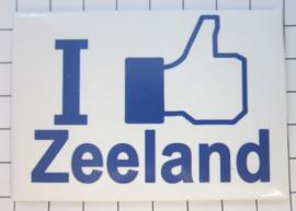 10 stuks koelkastmagneet I like Zeeland N_ZE1.002