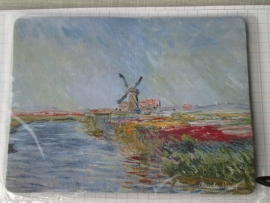 10 stuks muismat Molen Claude Monet in Holland