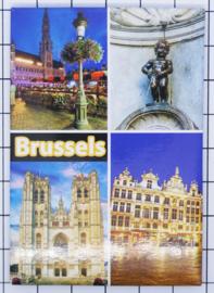 koelkastmagneet Brussels N_BX039