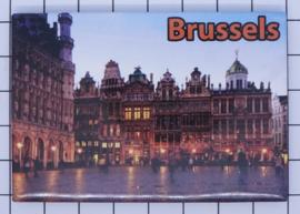 koelkastmagneet Brussels N_BX035
