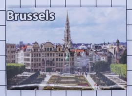 koelkastmagneet Brussels N_BX031
