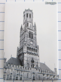 koelkastmagneten Brugge N_BB147