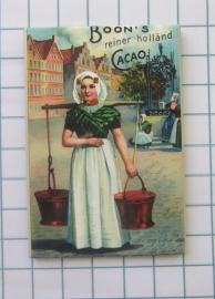 10 stuks koelkastmagneet Holland 20.530 affiche cacao