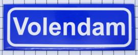 10 stuks koelkastmagneet plaatsnaambord Volendam P_NH4.0005