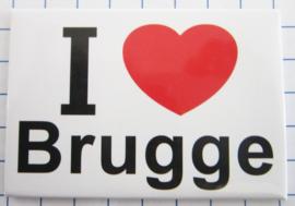 koelkastmagneten Brugge N_BB149
