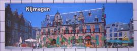 10 stuks koelkastmagneet Nijmegen  P_GE1.0010