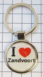SLE_NH8.501 Sleutelhanger I love Zandvoort