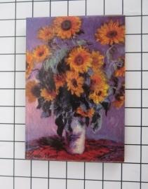 10 stuks koelkastmagneet Claude Monet MAC:20.450