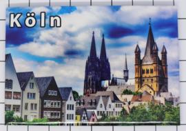 10 stuks koelkastmagneet Köln N_DK006