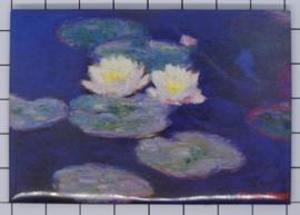 10 stuks koelkastmagneet Claude Monet 20.456