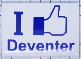 10 stuks koelkastmagneet Deventer I like N_OV4.002