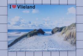 10 stuks koelkastmagneet  Vlieland N_FR8.003