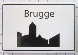 koelkastmagneten Brugge N_BB150
