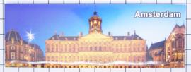 10 stuks koelkastmagneet paleis Dam Amsterdam  22.030
