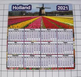 10 stuks Mega koelkastmagneet Holland kalender 2021 MEGA_V_CAL.002