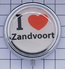 PIL_NH8.501 pillendoosje met spiegel   ik hou van Zandvoort