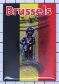 koelkastmagneet Brussels N_BX037