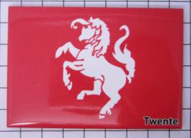10 stuks koelkastmagneet vlag Twente N_OV5.002