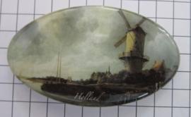 Haarspeld ovaal HAO 302 molen Ruisdael