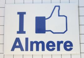 10 stuks koelkastmagneet I like Almere N_FL1.001