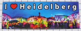 10 stuks koelkastmagneet Heidelberg P_DH0007