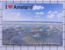 10 stuks koelkastmagneet  Ameland  N_FR9.002