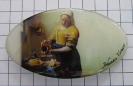 Haarspeld ovaal HAO 411 melkmeisje Johannes Vermeer