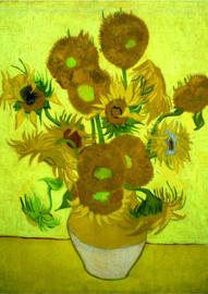 10 stuks poster op karton Zonnebloemen Vincent van Gogh POS-0003 posters(20.8Cm / 29.5Cm)