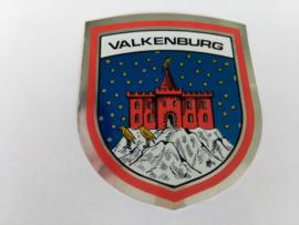 sticker wapenschild Valkenburg kasteel