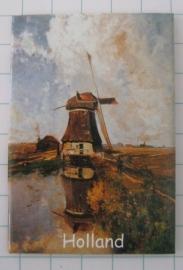 10 stuks  koelkastmagneet Holland   MAC:20.228 Molen Gabriel