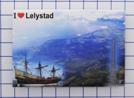 10 stuks koelkastmagneet Lelystad N_FL2.003