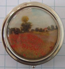 PIL 137 pillendoosje klaprozenveld,Monet
