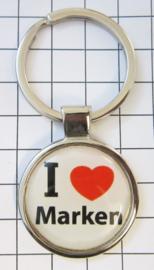 SLE_NH1.001 Sleutelhanger I love  Marken