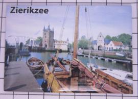 10 stuks koelkastmagneet Zierikzee  Zeeland N_ZE6.006