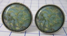 machetknopen verzilverd afbeelding amandelbloesem Vincent van Gogh MAK014
