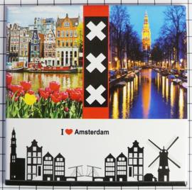 10 stuks Mega koelkastmagneet Amsterdam MEGA_V_20.001