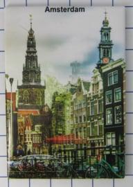 10 stuks koelkastmagneet Amsterdam 19.037